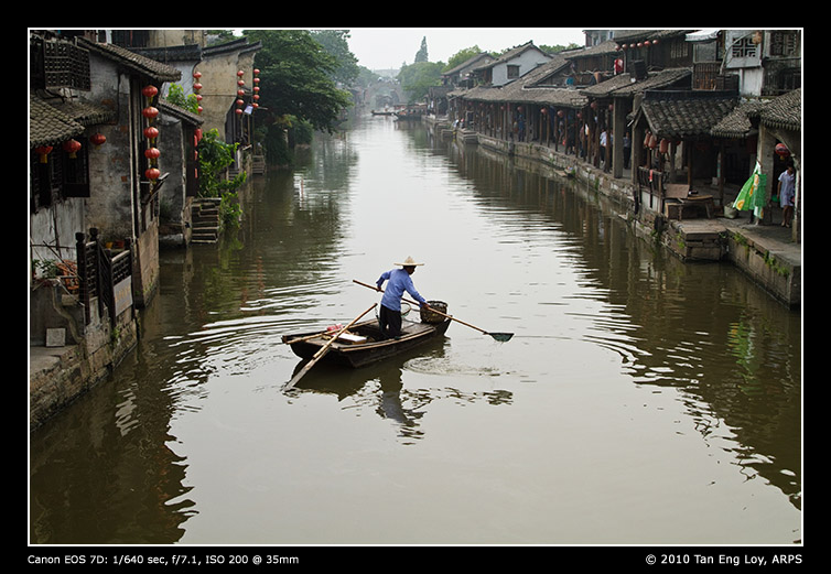Cleaning Up At Xitang (西塘)